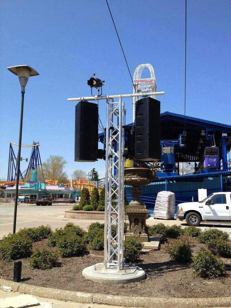 Cedarpoint Amusement Park - Audio Public Address System